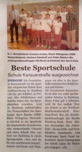 Zeitungsartikel Sportabzeichen